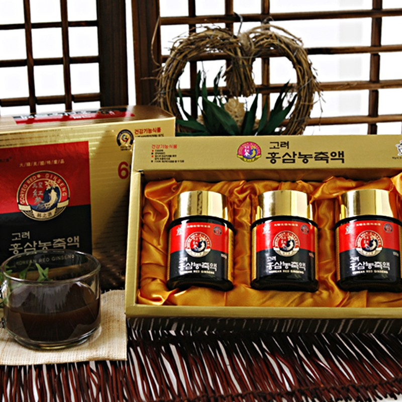 how to use korean red ginseng extract